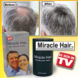 Miracle Hair TV Product Review